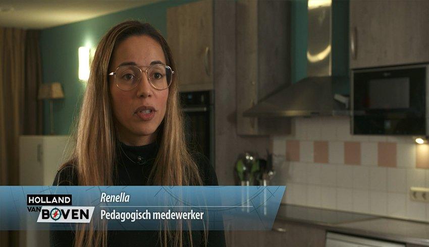 Zorg Vooruit bij het tv-programma Holland van Boven van SBS6
