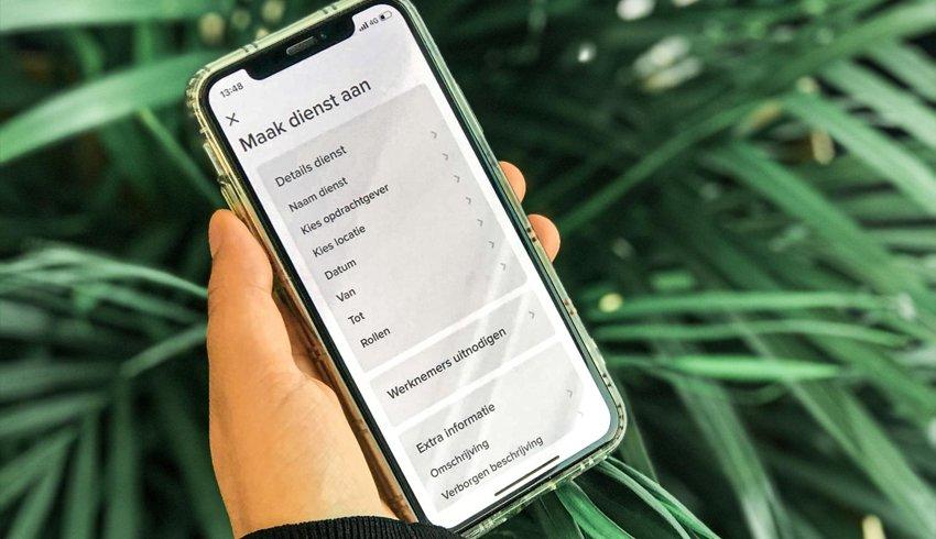 Snel je dienst inplannen wanneer het jou uitkomt met de app van Zorg Vooruit