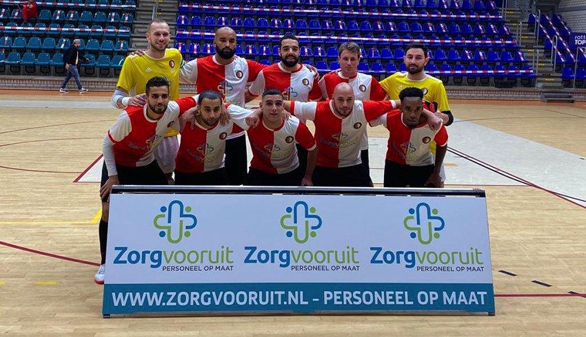 Wij zijn de trotse hoofdsponsor van Feyenoord Futsal