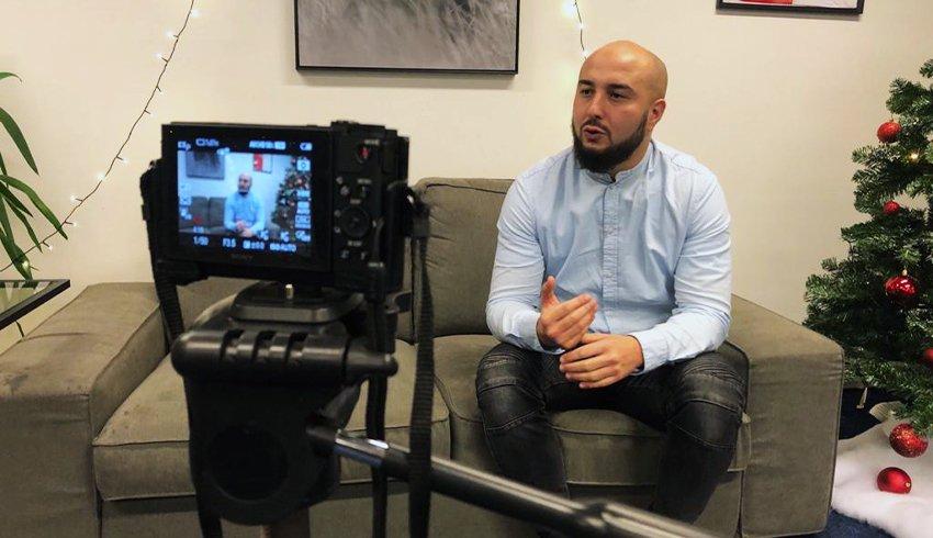 Het verhaal van onze zorgheld Ismail Aghzanay