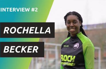 Het verhaal van profvoetbalster en jongeren begeleider Rochella Becker! 💪🏼⚽